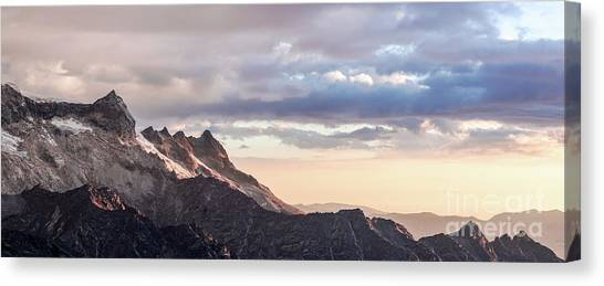 Peruvian Canvas Print - Ishinca Sunset by DiFigiano Photography