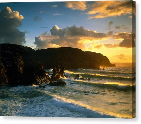 Ocean Cliffs Canvas Print - Isle Of Lewis Outer Hebrides Scotland by Panoramic Images