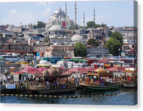 Istanbul Canvas Print by Andrea Simon