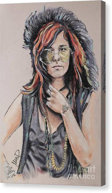 Janis Joplin Canvas Print - Janis Joplin by Melanie D