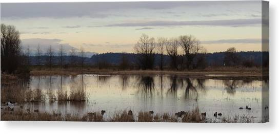 January Thaw 2 Canvas Print