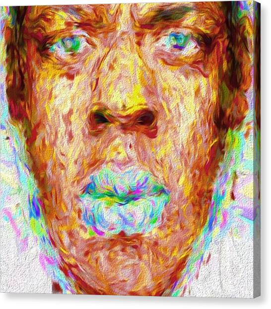 Kings Canvas Print - Jay-z May Have Come From The Streets by David Haskett II