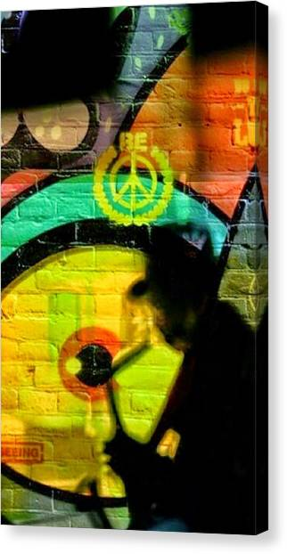 Sun Belt Canvas Print - Jazzman by Pat Carafa