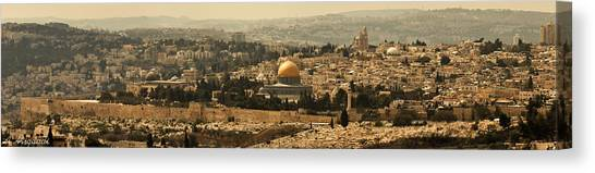 Jerusalem Canvas Print by Amr Miqdadi