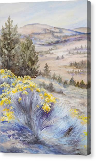 John Day Valley I Canvas Print