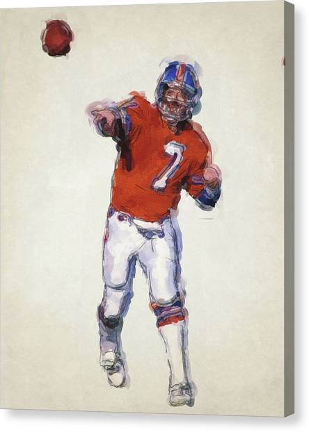 John Elway Canvas Prints | Fine Art America