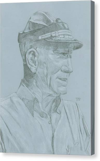 John Mccain Canvas Print - John S. Mccain by Dennis Larson