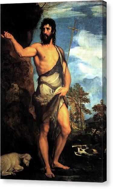 John The Baptist Canvas Print
