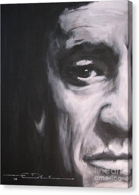 Johnny Cash 2 Canvas Print