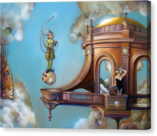 Tropical Fish Canvas Print - Jugglernautica by Patrick Anthony Pierson