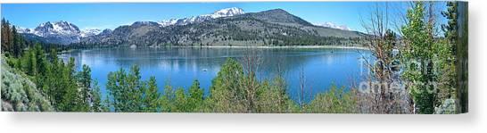 June Lake Panorama Canvas Print