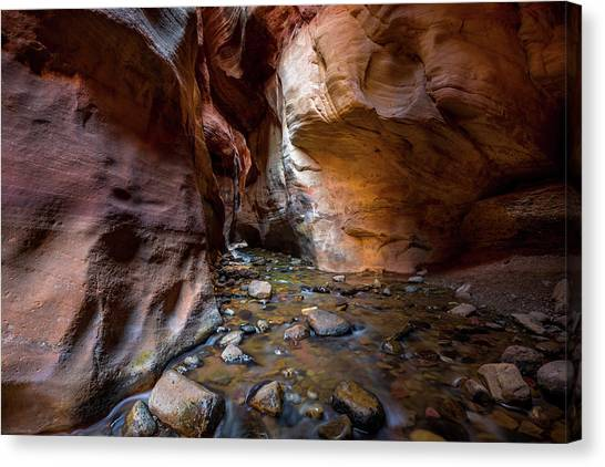 Kanarra Slot Canyon Canvas Print