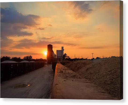 Katy Texas Sunset Canvas Print