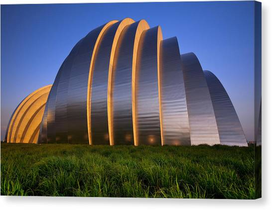 Kauffman Center Canvas Print