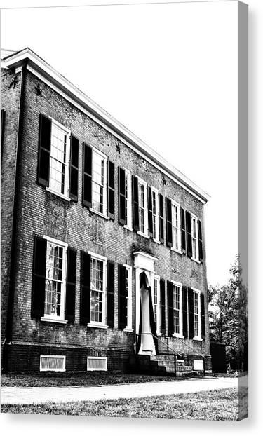 Kentucky Home  Canvas Print