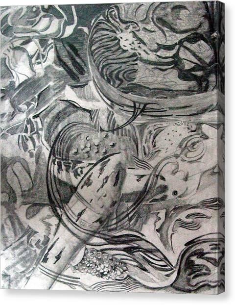 Koi Pond Canvas Print - Koi  by Mindy Newman