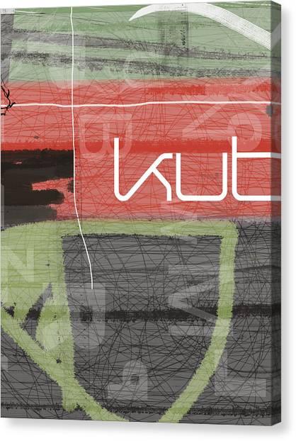 Palette Canvas Print - KUT by Naxart Studio