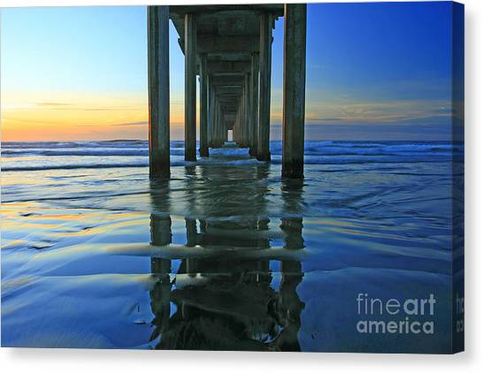 La Jolla Blue  Canvas Print