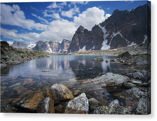 Lake Agnes Canvas Print