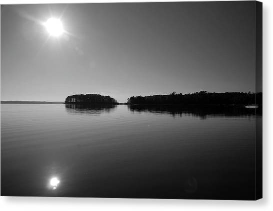 Lake Sam Rayburn Canvas Print