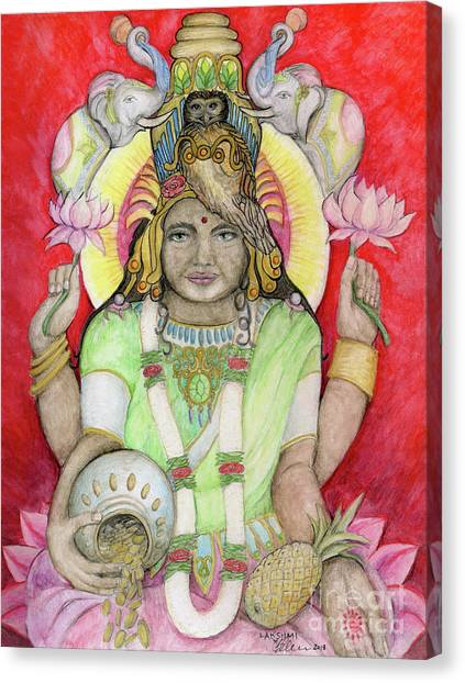 Lakshmi Canvas Print