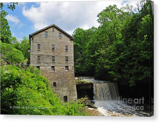 D9e-28 Lantermans Mill Photo Canvas Print
