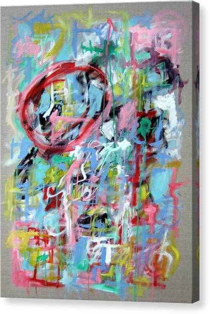 Large Abstract No 5 Canvas Print by Michael Henderson