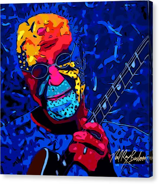 Larry Carlton Canvas Print