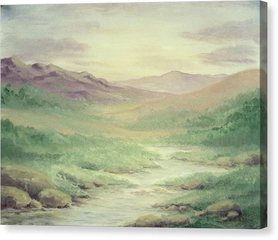 Lazy Creek Canvas Print