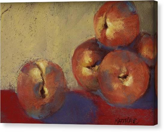 Le Peches Canvas Print by Kathleen Hartman