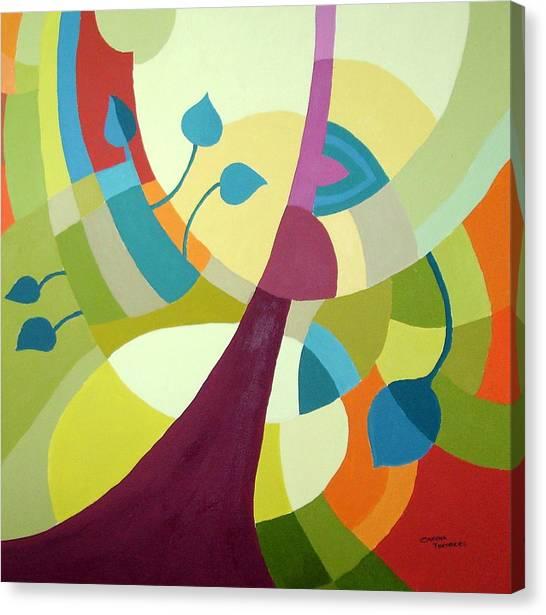 Leaning Towards Fall Canvas Print by Carola Ann-Margret Forsberg