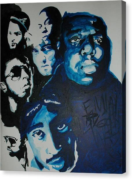 Legends Together Canvas Print