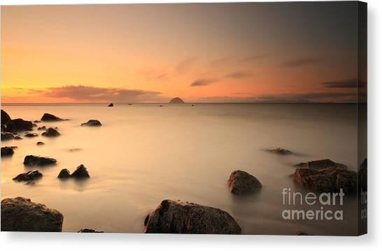 Lendalfoot Sunset Canvas Print