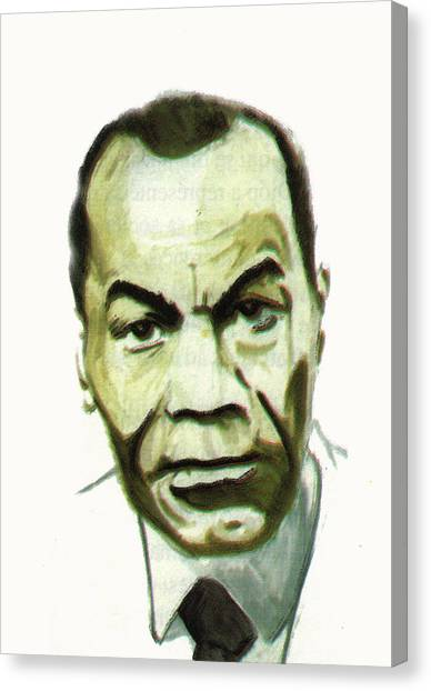 Leon Gontran Damas Canvas Print