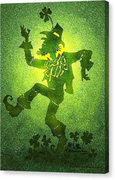 Leprechaun Canvas Print