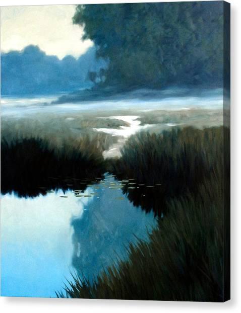 Lifting Fog Canvas Print