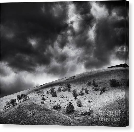 Thunderclouds Canvas Print - Light In Dark Spaces by Tim Gainey