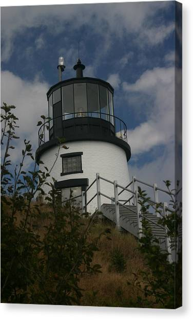 Lighthouse Canvas Print by Dennis Curry