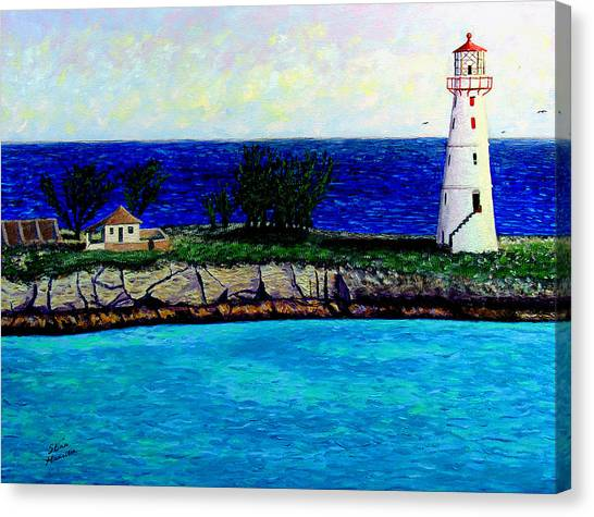 Lighthouse IIi Canvas Print by Stan Hamilton