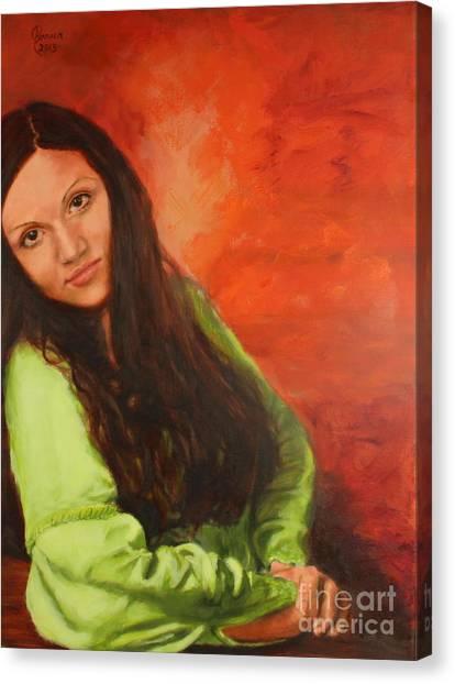 Liliia Canvas Print