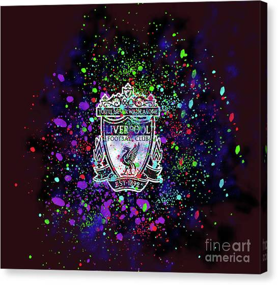 Liverpool Fc Canvas Print - Liverpool Fc by Koma Rudiz
