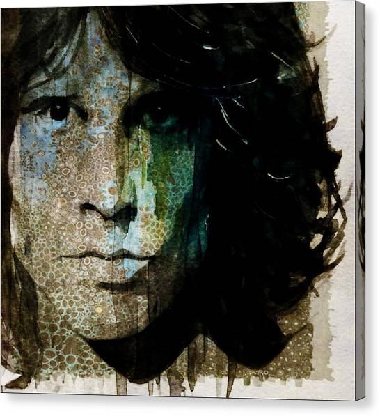 Lizards Canvas Print - Lizard King / Jim Morrison by Paul Lovering