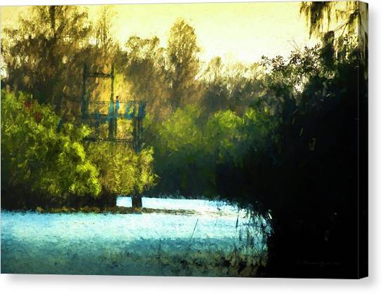 Treeline Canvas Print - Looking For You by Marvin Spates