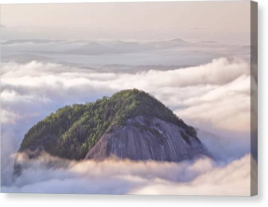 Pisgah National Forest Canvas Print - Looking Glass Rock by Rob Travis