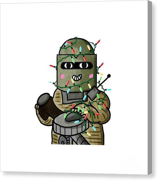 Rainbow Six Canvas Print - Lord Tachanka by Jayana Bamiro
