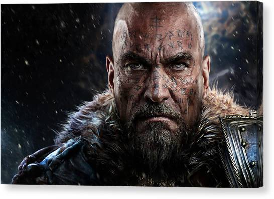 Orangutans Canvas Print - Lords Of The Fallen by Super Lovely