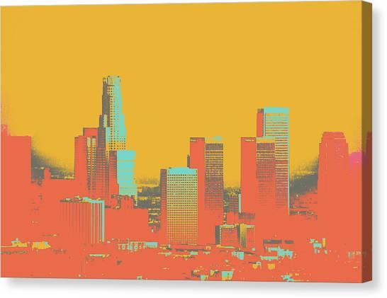 Los Angeles Canvas Print by Shay Culligan