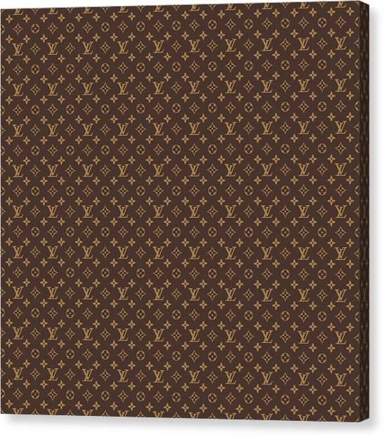 Rectangles Canvas Print - Louis Vuitton by Vadim Pavlov