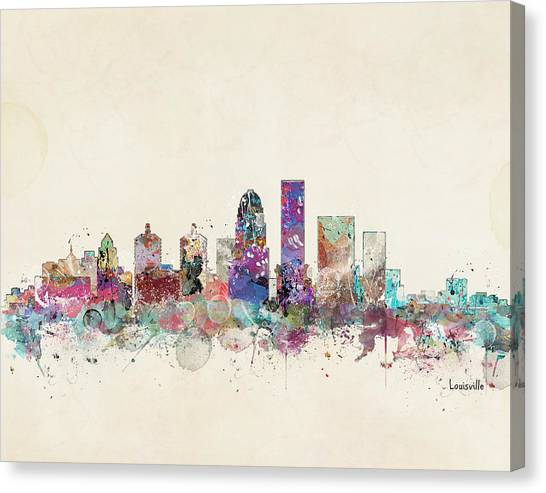 Kentucky Canvas Print - Louisville Kentucky by Bri Buckley