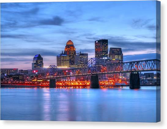 Louisville Kentucky Canvas Print